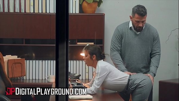 Busty (Alexis Fawx) fucking her boss in the office – Digital Playground