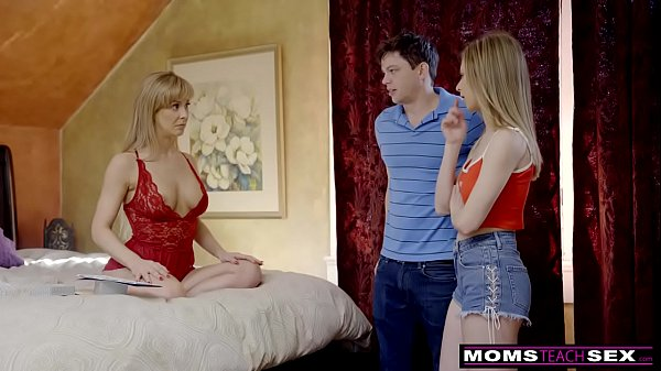 MomsTeachSex – Busty MILF Gets Hot Mother's Day Threesome! S8:E4