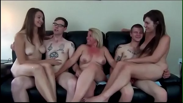 MOTHER WITH SONS AND DAUGHTERS