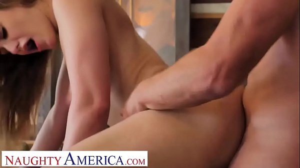 Naughty America Kenzie Madison plays strip pool with friend's brother