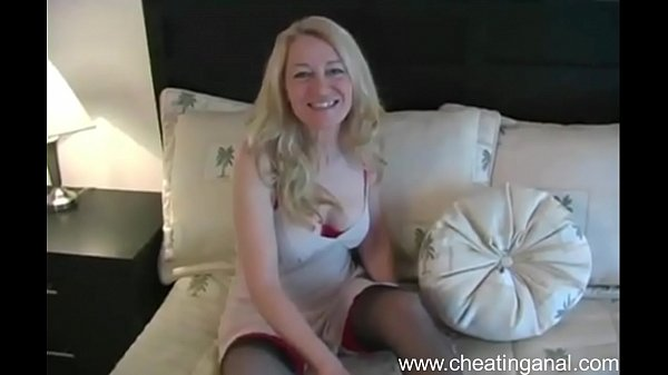 Sexy Cheating Wife Has Anal Sex – www.cheatinganal.com