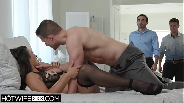 Wife Brooklyn Gets Face Fuck From All Her Husbands Friends