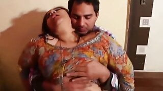Aunty has sex with me in the morning