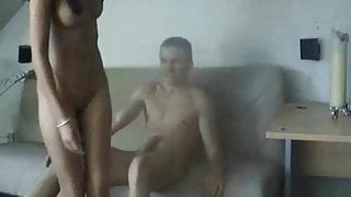 Cute cheating girl gets fucked by her neighbour!