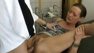 MILF at the anal clinic