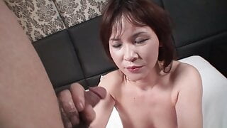 MILF MATURE HAIRY amateur porn from japan -japanese-creampie