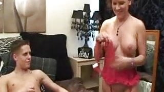 Mother in Law Gets Laid With Boy