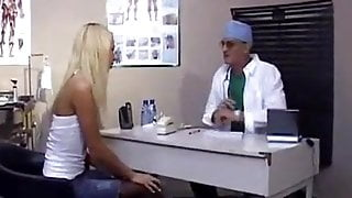 old doctor get young blonde