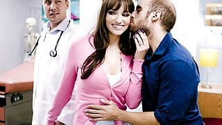 Pregnant wife Lexi Luna's hormones are out of control and she is horny