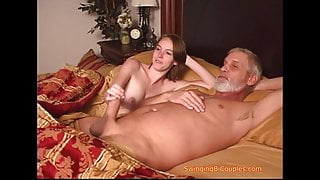 Taboo dad and step daughters BUSTED
